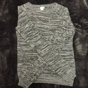 Black Heather Sweater